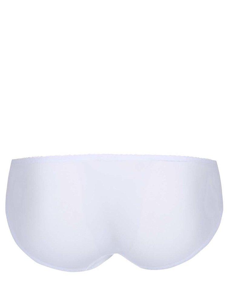 Bílé kalhotky s puntíky Curvy Kate Princess