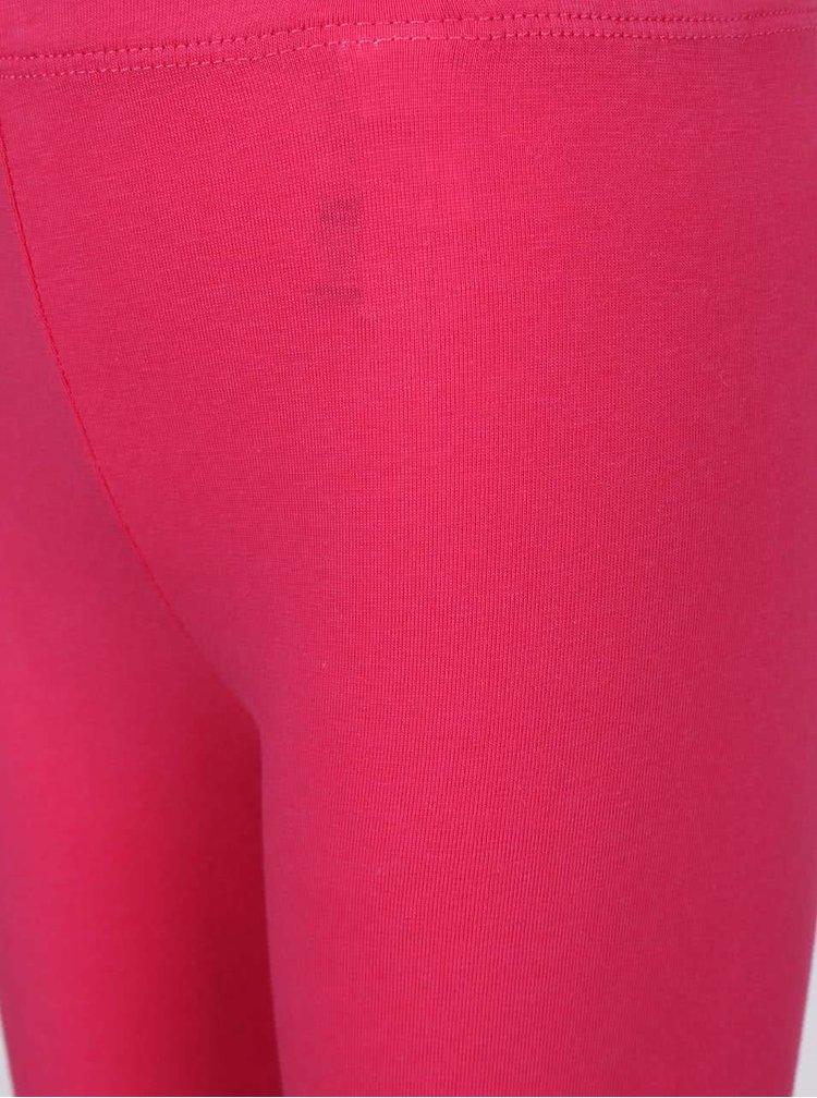 Set holčičích růžových kraťasů a modrého trička North Pole Kids
