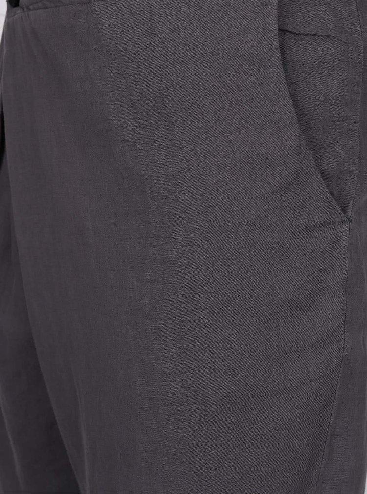 Sivé asymetrické kraťasy Lindbergh Kurtis