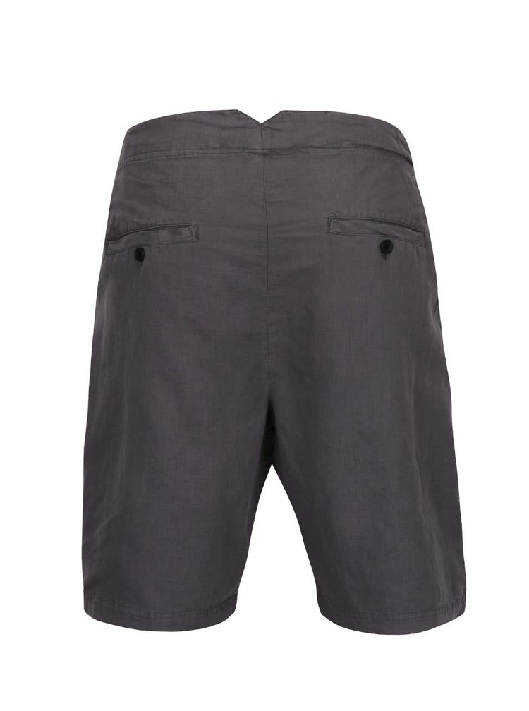 Pantaloni scurti asimetrici Lindbergh Kurtis gri
