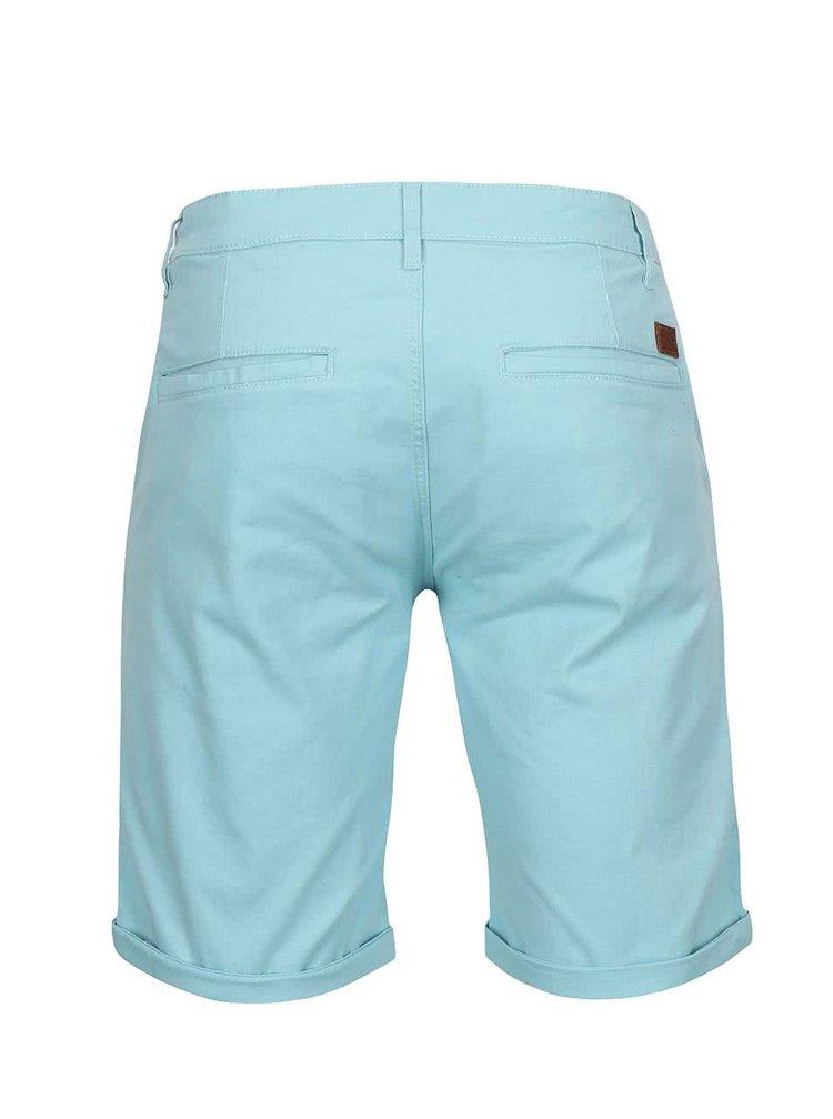 Pantaloni scurți Lindbergh Kurtis Stretch albastru-mint