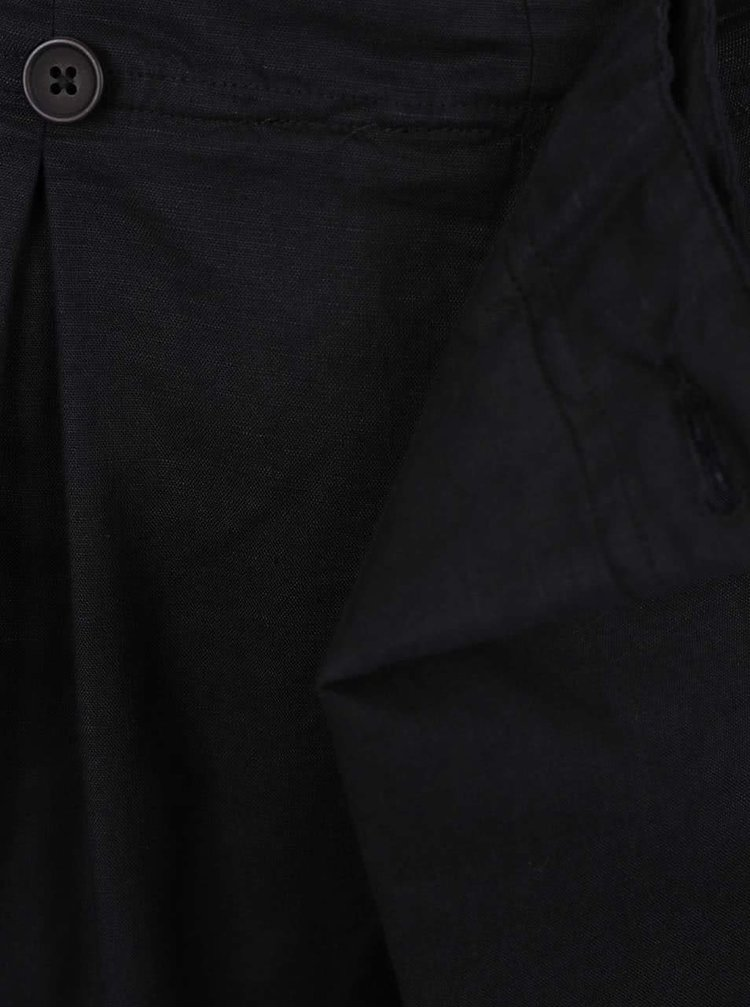 Pantaloni scurți asimetrici Lindbergh Kurtis negri