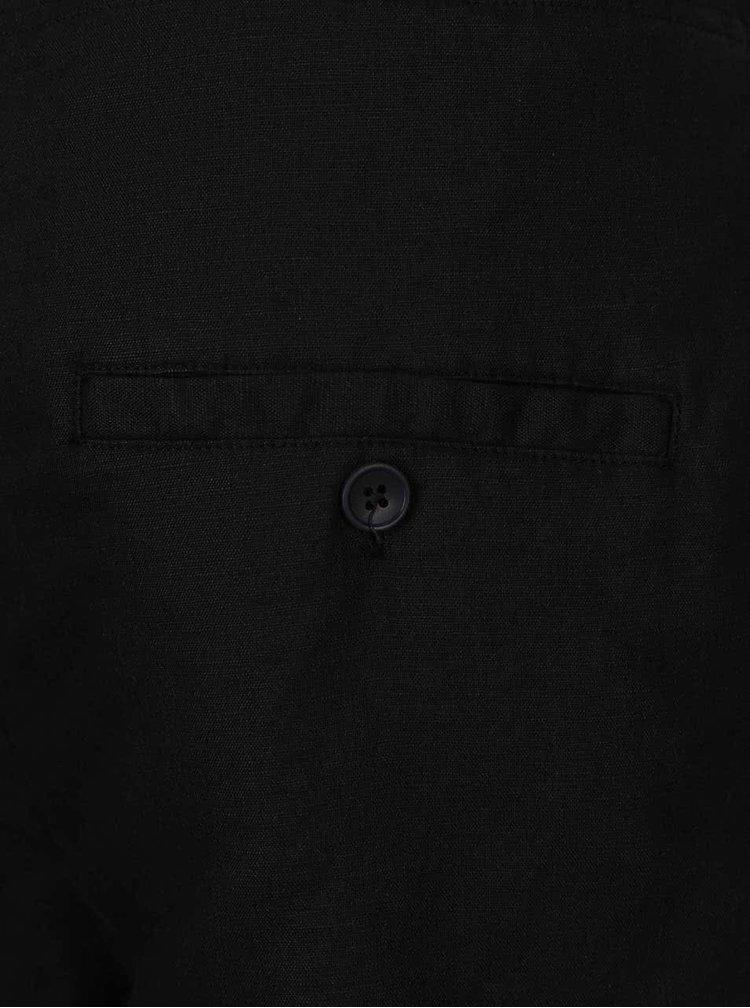 Černé asymterické kraťasy Lindbergh Kurtis
