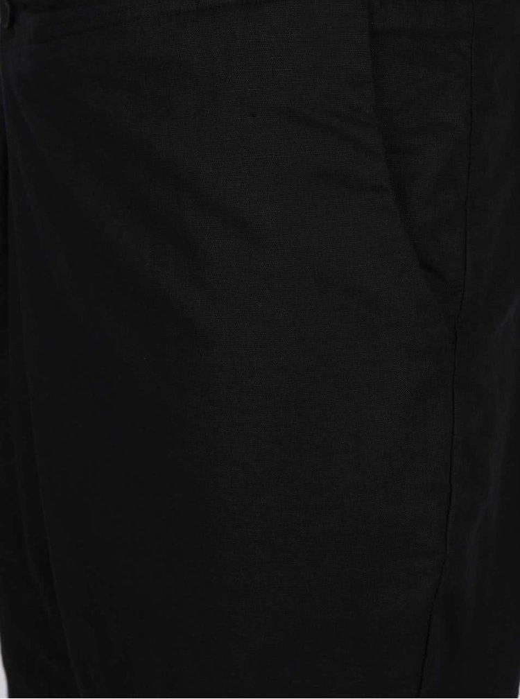 Čierne asymetrické kraťasy Lindbergh Kurtis