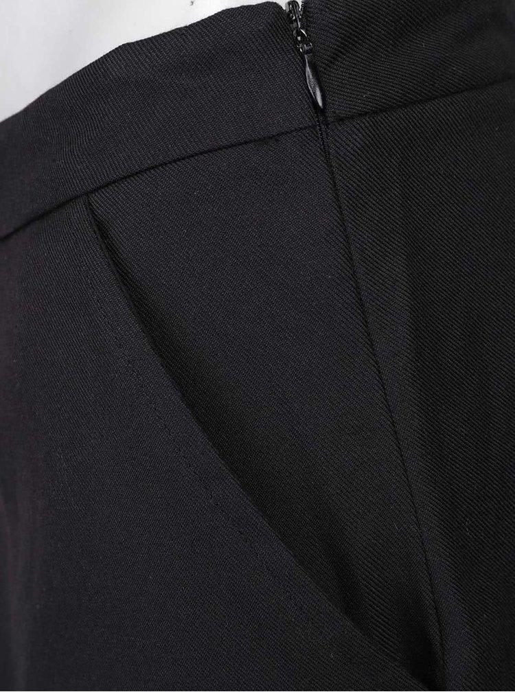 Černé culottes ICHI Dalia