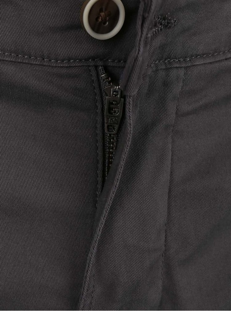 Pantaloni scurti Lindbergh Kurtis Stretch gri