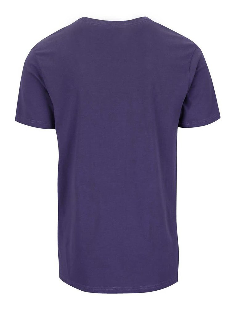 Fialové tričko s potlačou Shine Original Rider