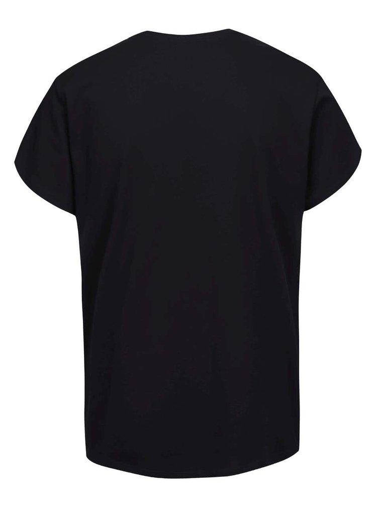 Tricou de bărbați Vans Logo fill negru cu print