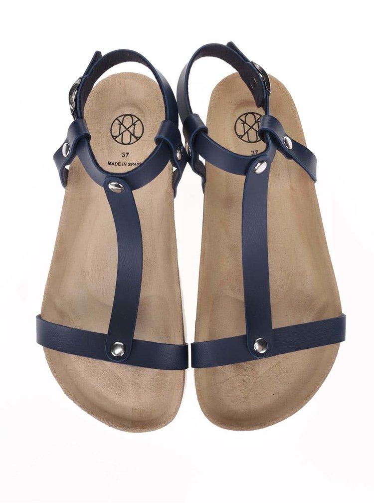 Sandale OJJU albastru închis