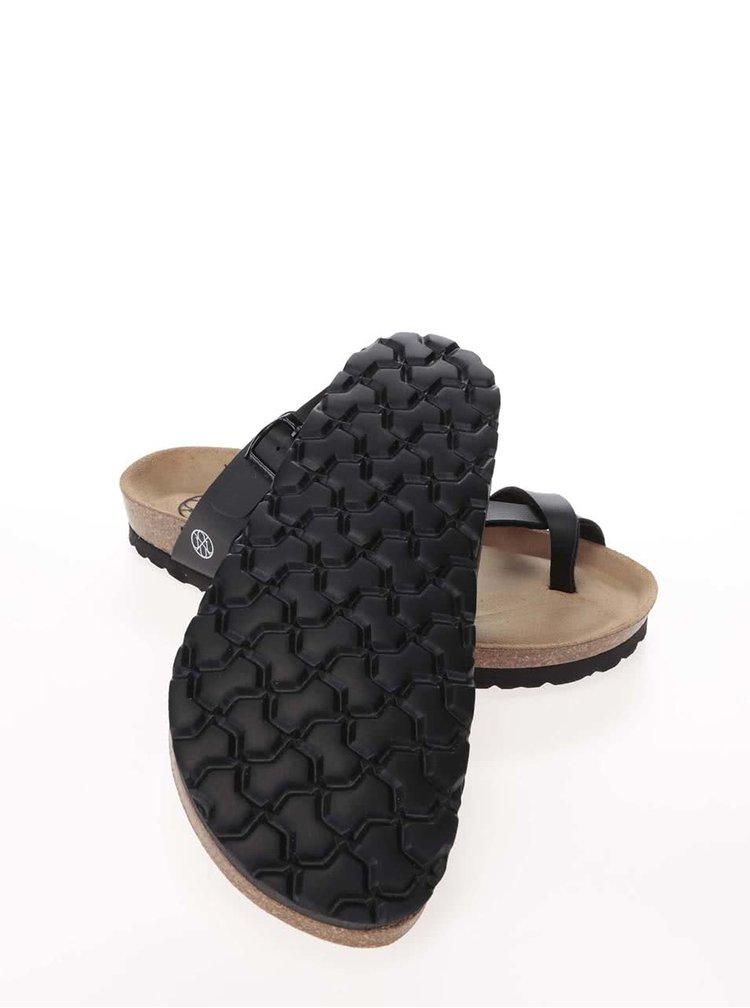 Papuci damă OJJU negri