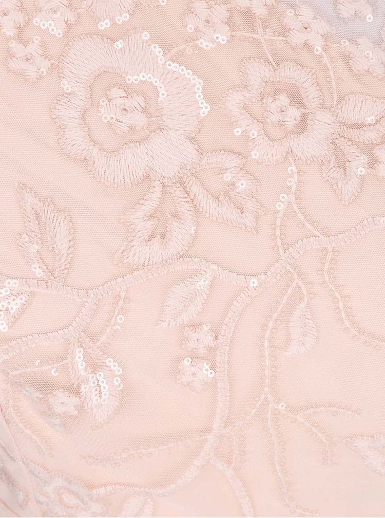 Rochie maxi asimetrică Little Mistress roz