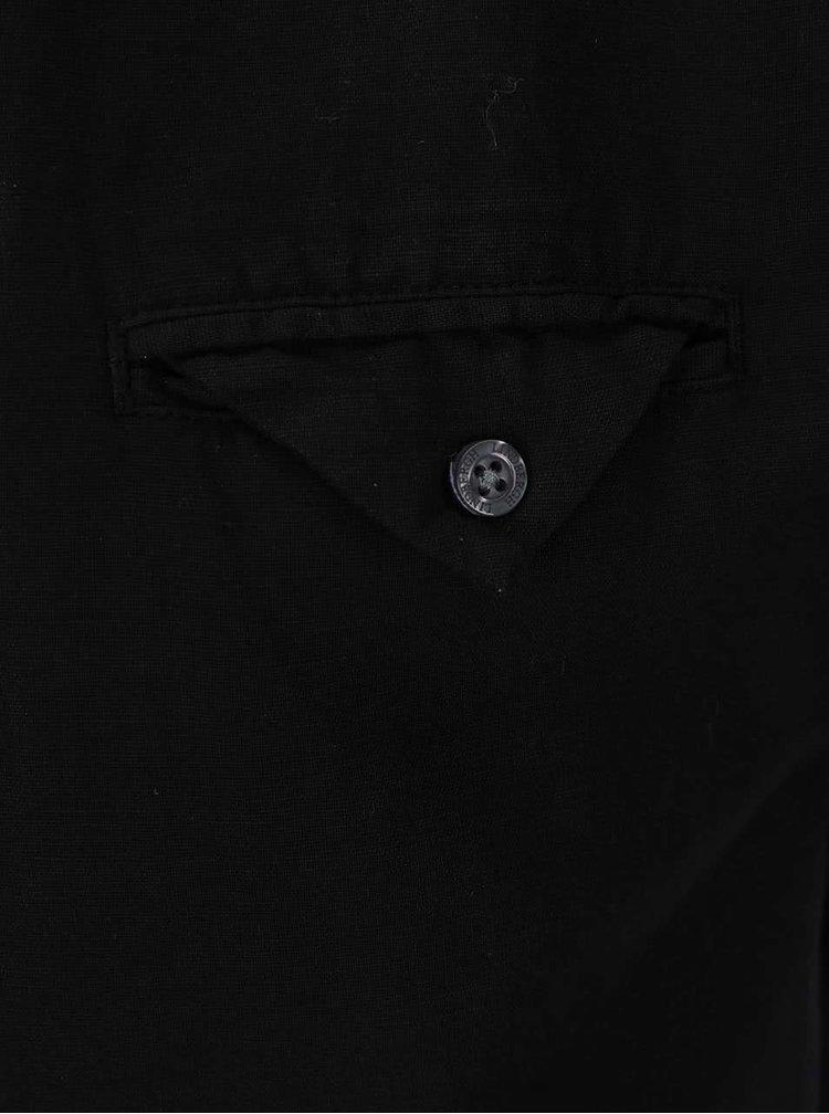 Cămașă asimetrică Lindbergh Gibson Out neagră