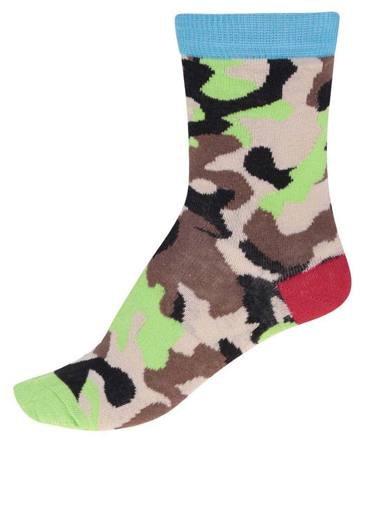 Súprava troch farebných chlapčenských ponožiek Oddsocks Boys12