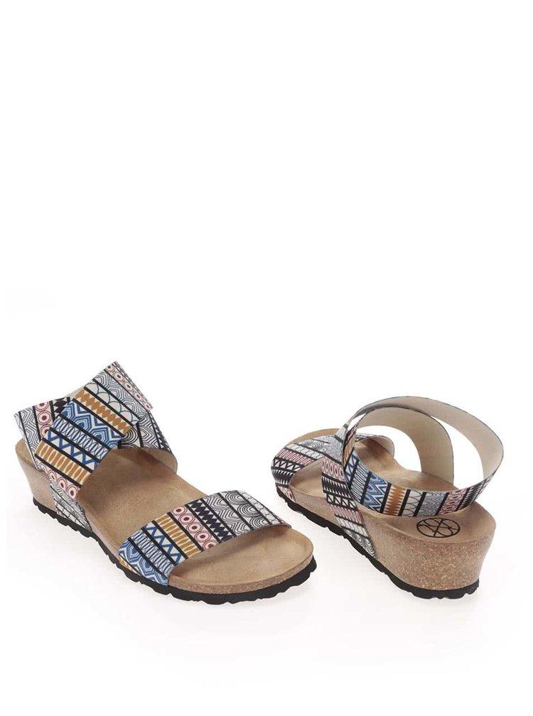 Sandale OJJU cu imprimeu