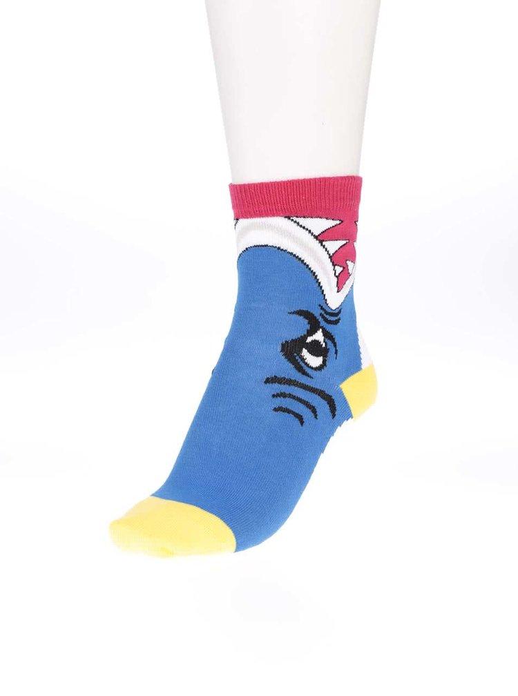 Súprava troch farebných chlapčenských ponožiek Oddsocks Animal