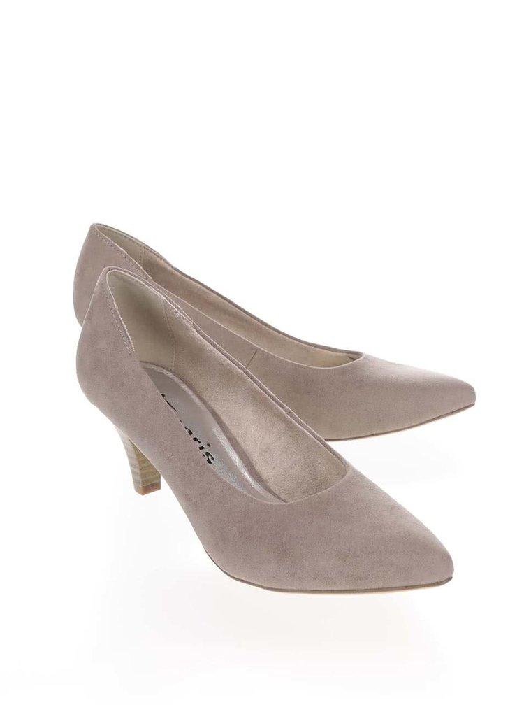Pantofi Tamaris bej