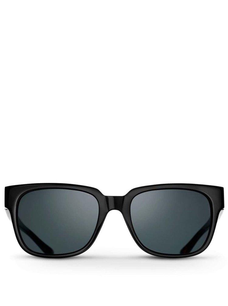 Ochelari de soare unisex Triwa Midnight Lector negru-maro