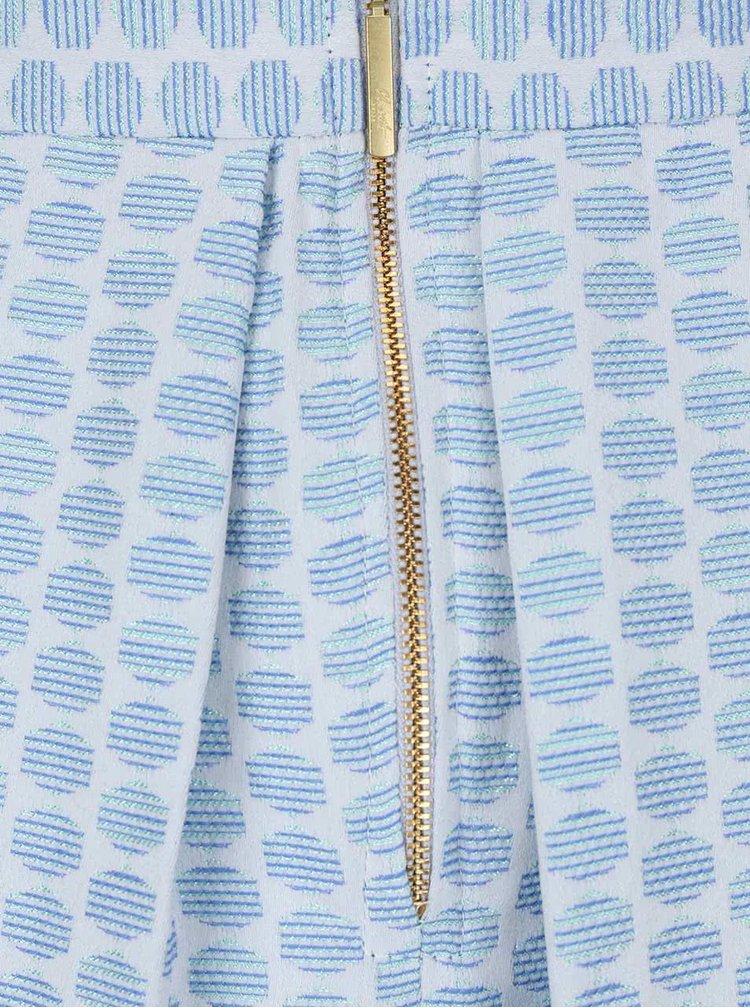 Fustă Closet albastră cu imprimeu