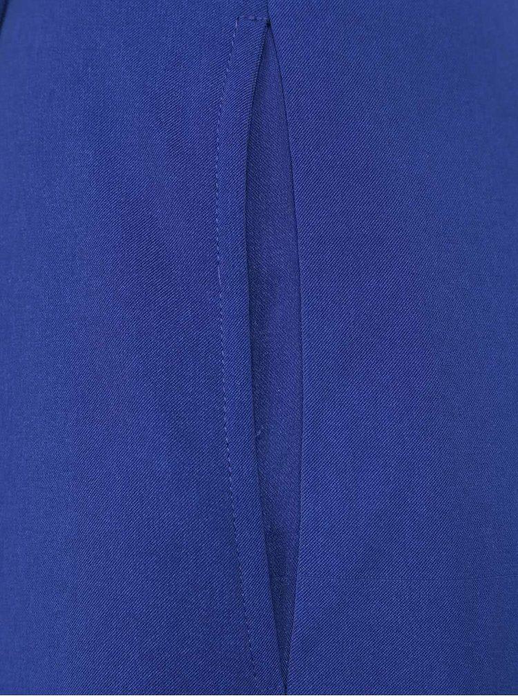 Modrý overal na ramienka Little Mistress