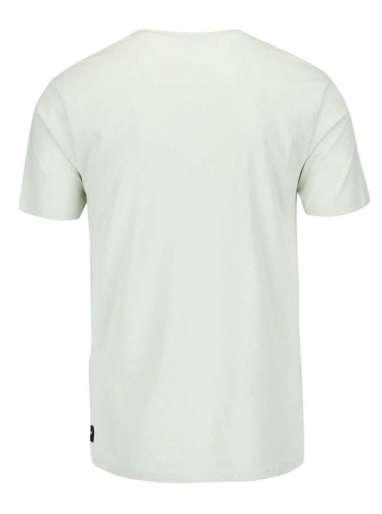 Svetlozelené tričko s potlačou ONLY & SONS Solace