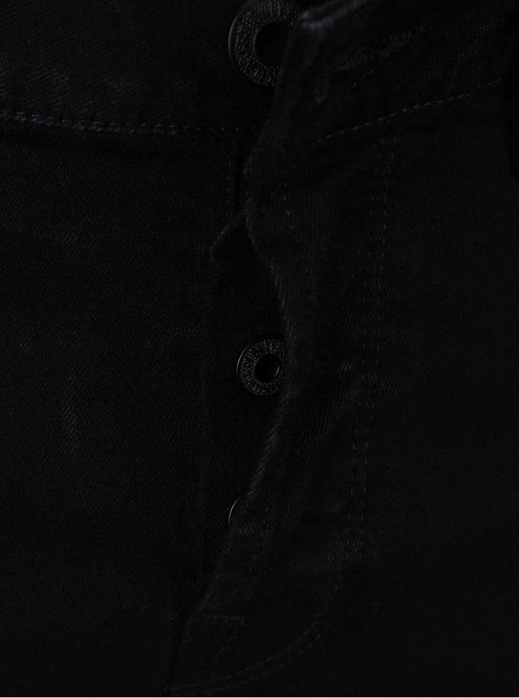 Černé džínové slim fit kraťasy ONLY & SONS Loom