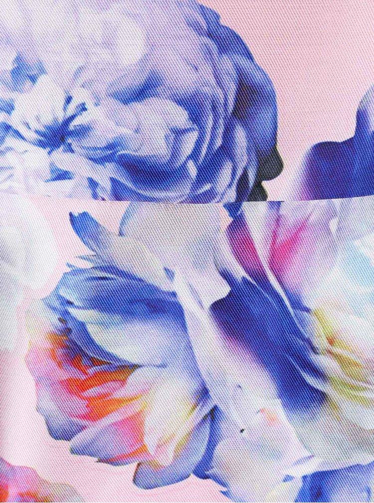 Rochie cu imprimeu floral Chi Chi London Justice roz