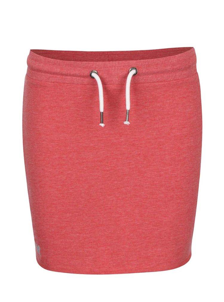 Tehlovočervená tepláková sukňa ONLY New Nilla