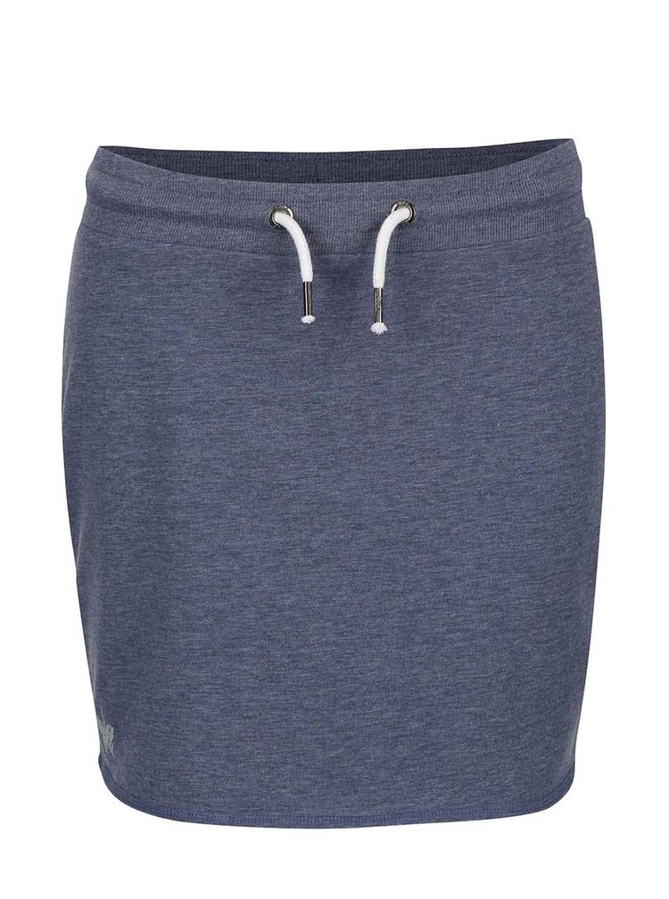 Modrá tepláková sukně ONLY New Nilla