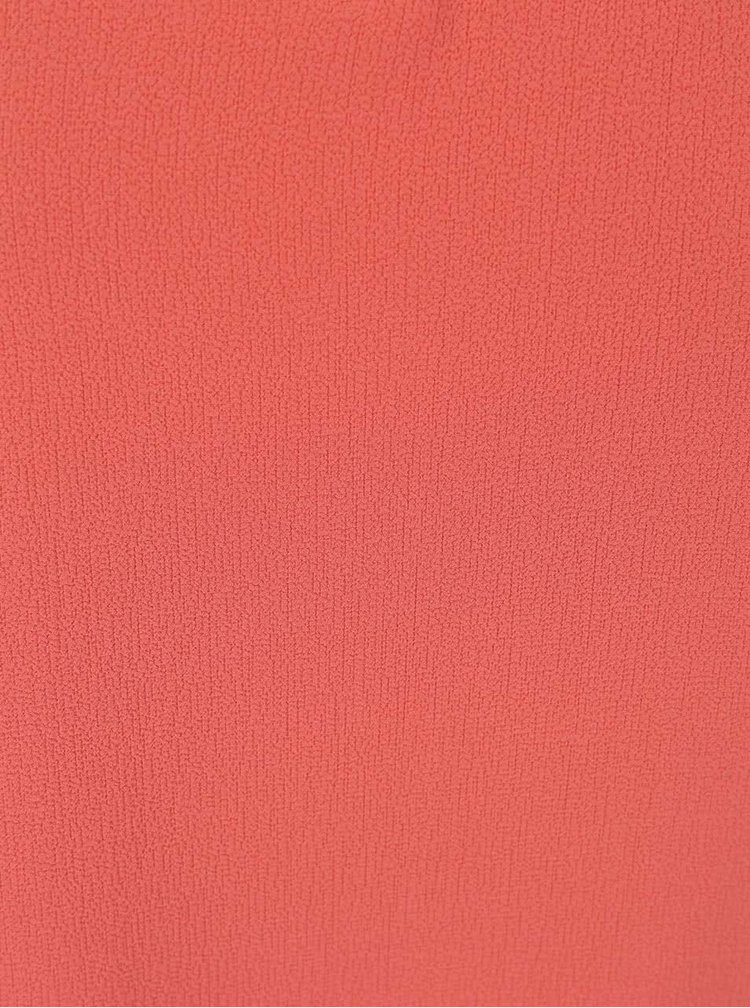 Tehlový červený top ONLY Myrina
