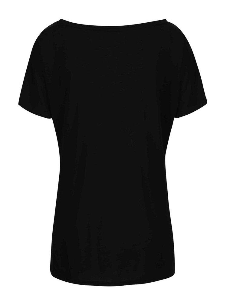 Černé tričko s potiskem Alchymi Potion