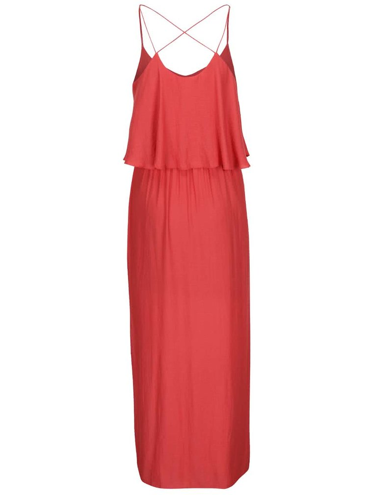 Rochie maxi ONLY Mojo Solid roșie