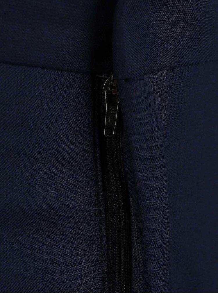 Tmavě modré formální kalhoty Selected Tax
