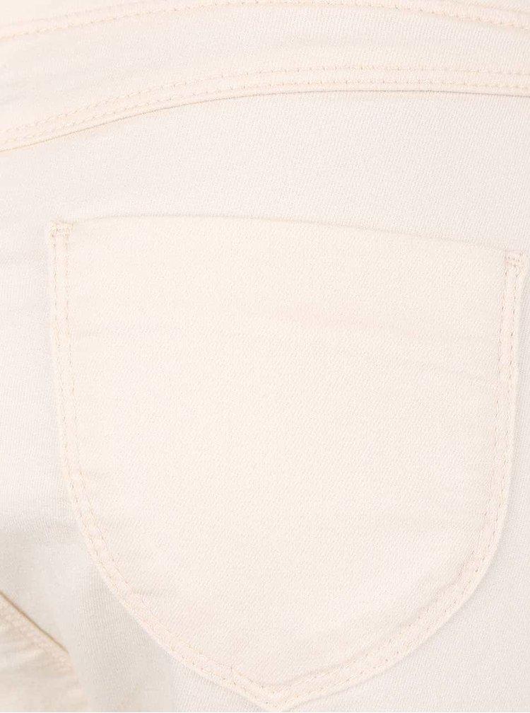 Krémové capri nohavice Dorothy Perkins Petite