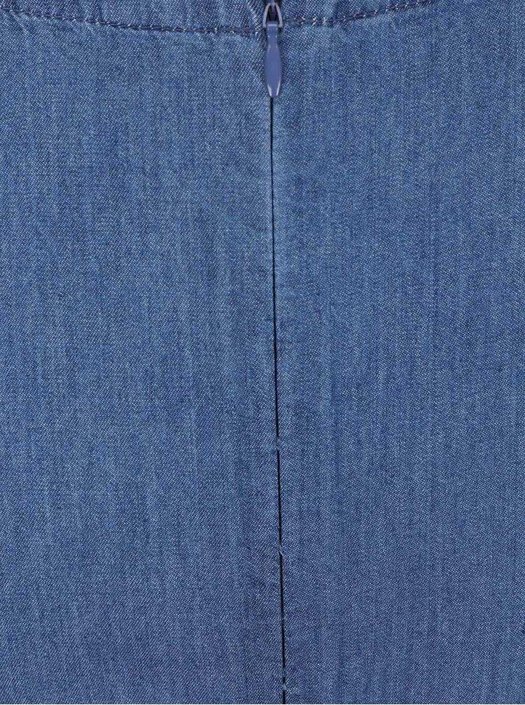 Rochie din denim Dorothy Perkins albastră