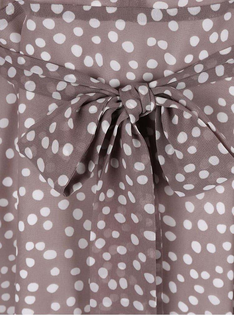 Rochie Dorothy Perkins Petite maro cu buline