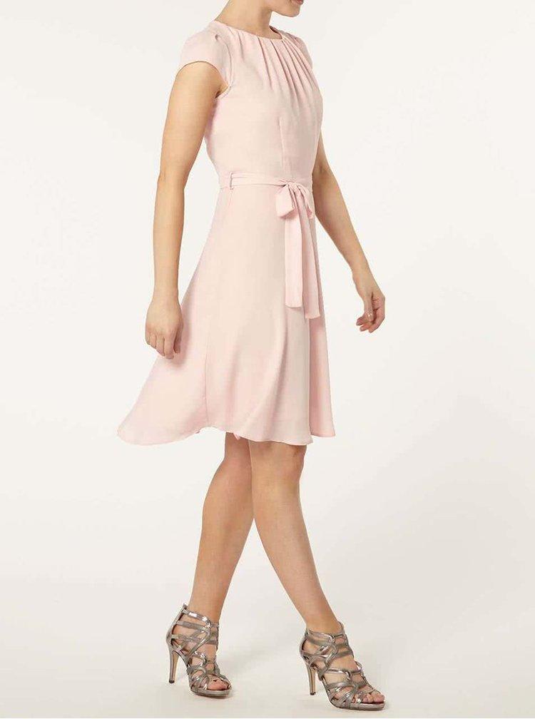 Světle růžové šaty Dorothy Perkins