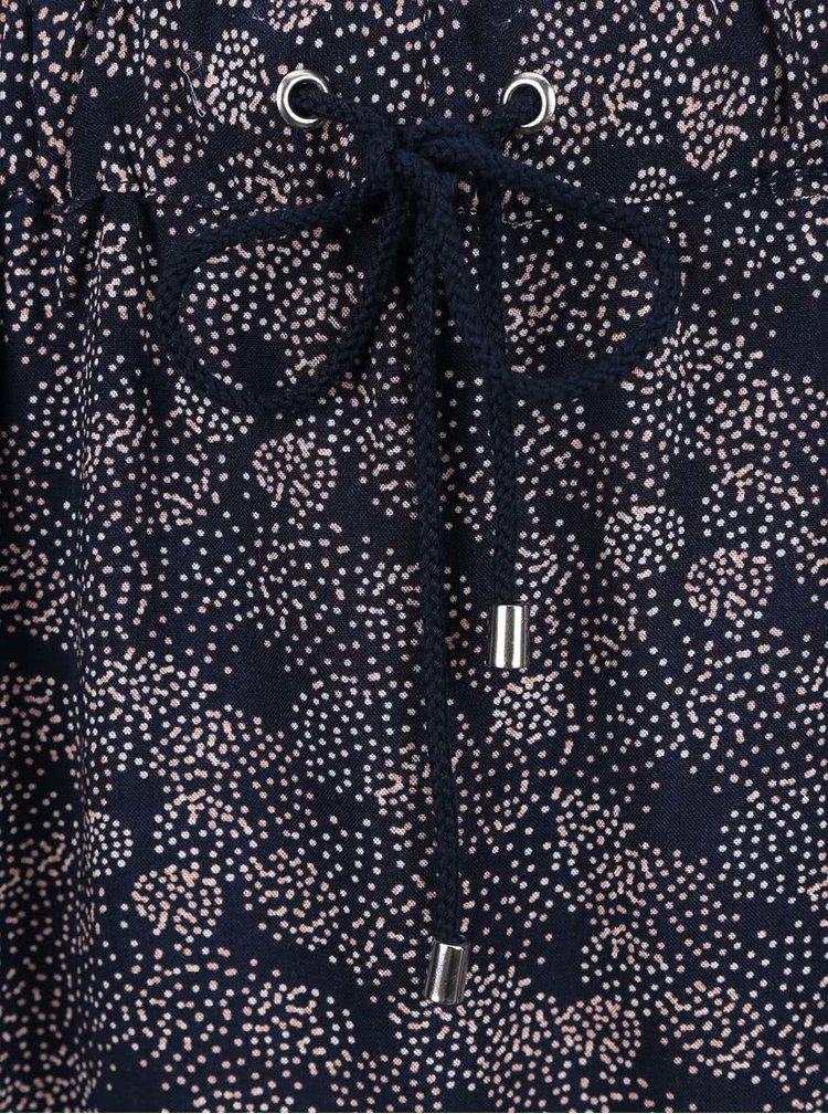 Ružovo-modrá sukňa VERO MODA Super Easy
