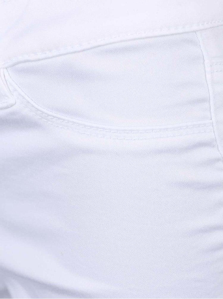 Pantaloni scurti VERO MODA Flex-It albi
