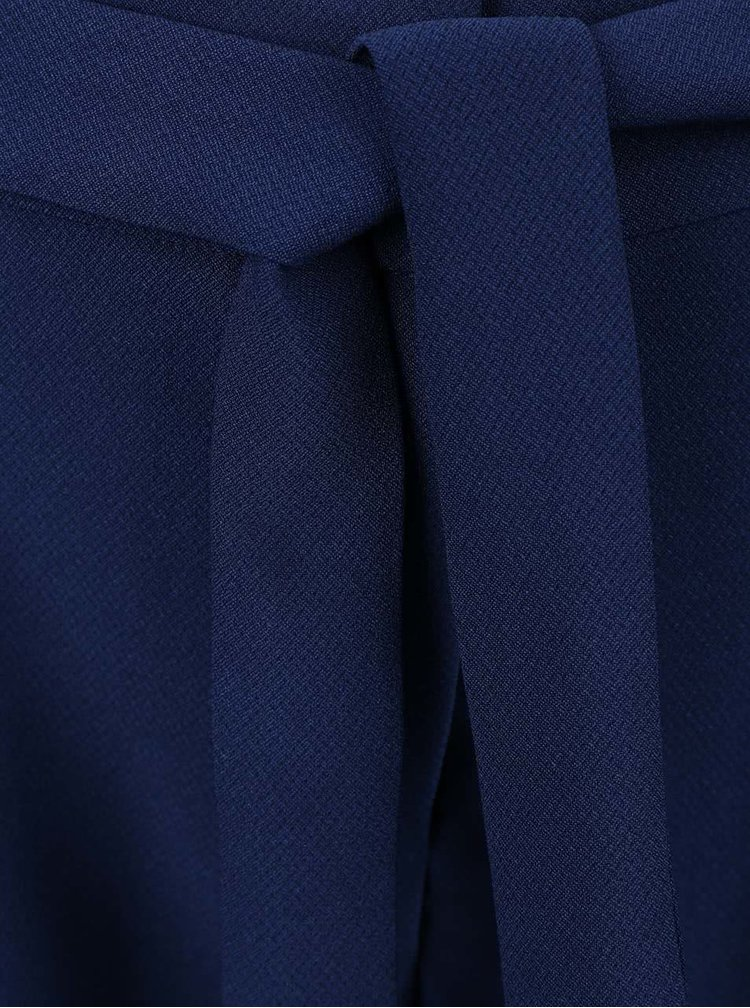 8d83b5f7cce Tmavě modré kraťasy s všitým páskem VERO MODA Garry
