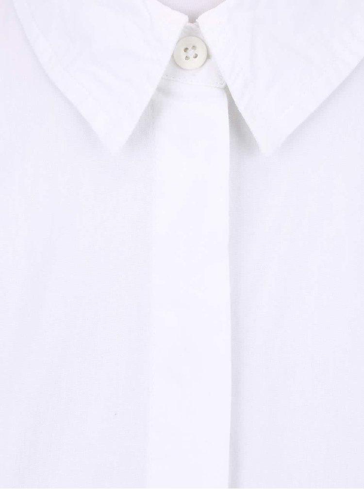 Cămașă lungă de damă Noisy May Corona albă