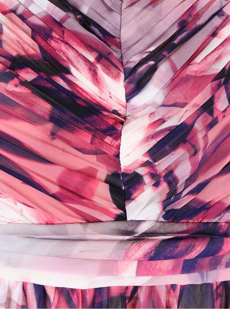Rochie maxi Dorothy Perkins Curve roz cu imprimeu