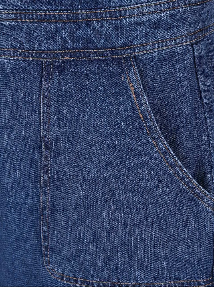 Modré džínové šaty s laclem Dorothy Perkins