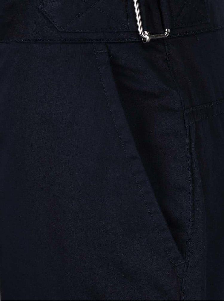 Pantaloni 3/4 Dorothy Perkins Petite albastru închis