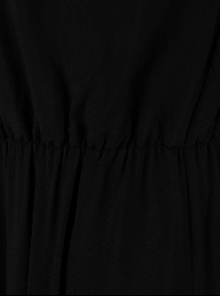 Rochie maxi VERO MODA Super Easy neagră