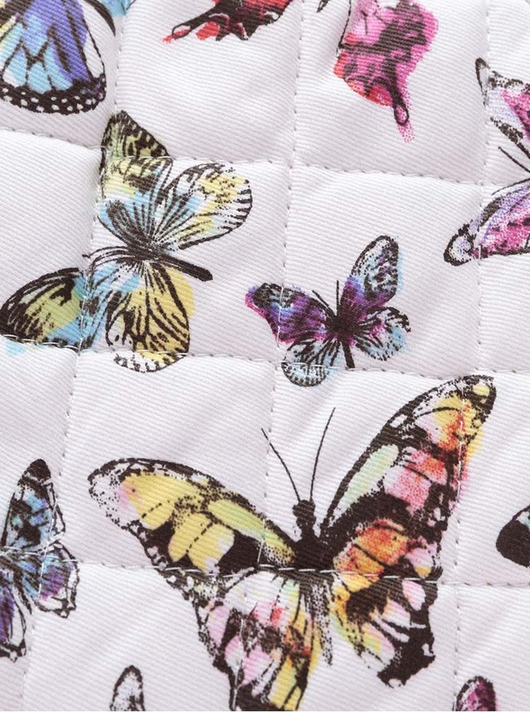 Manusa Cooksmart Butterfly alba cu imprimeu