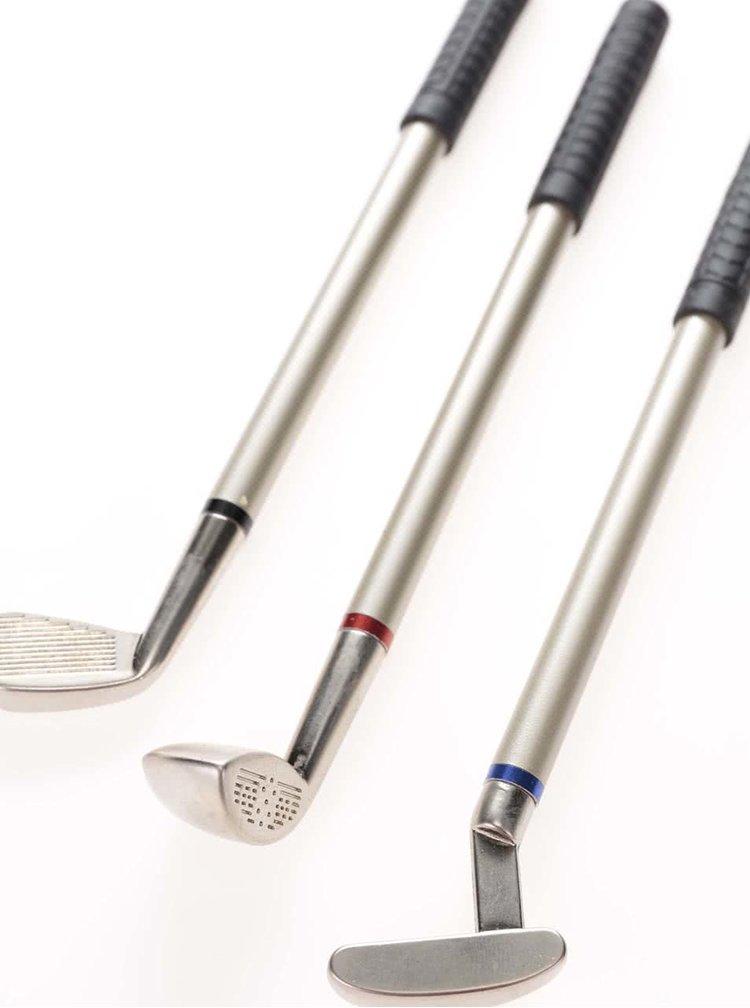 Súprava troch pier v tvare golfových palíc CGB