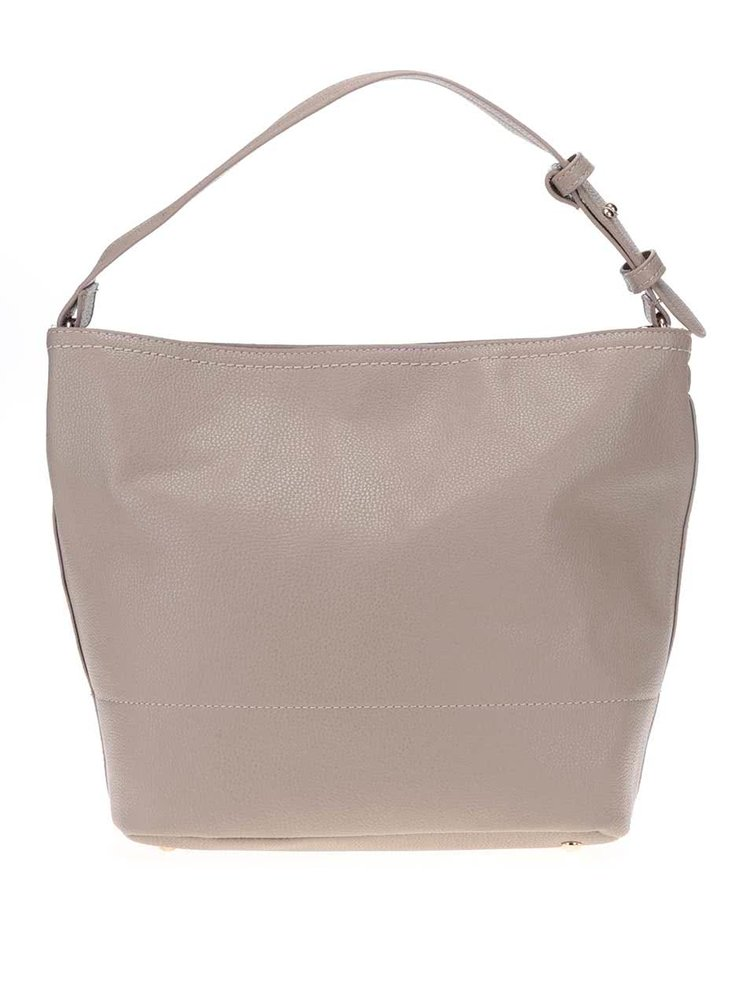 Béžová kabelka s detailmi v zlatej farbe Haily's Mary