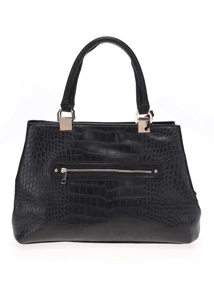 Černá vzorovaná kabelka do ruky Haily´s Snake