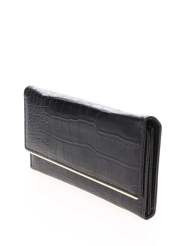 Černá peněženka s hadím vzorem Haily´s Snake