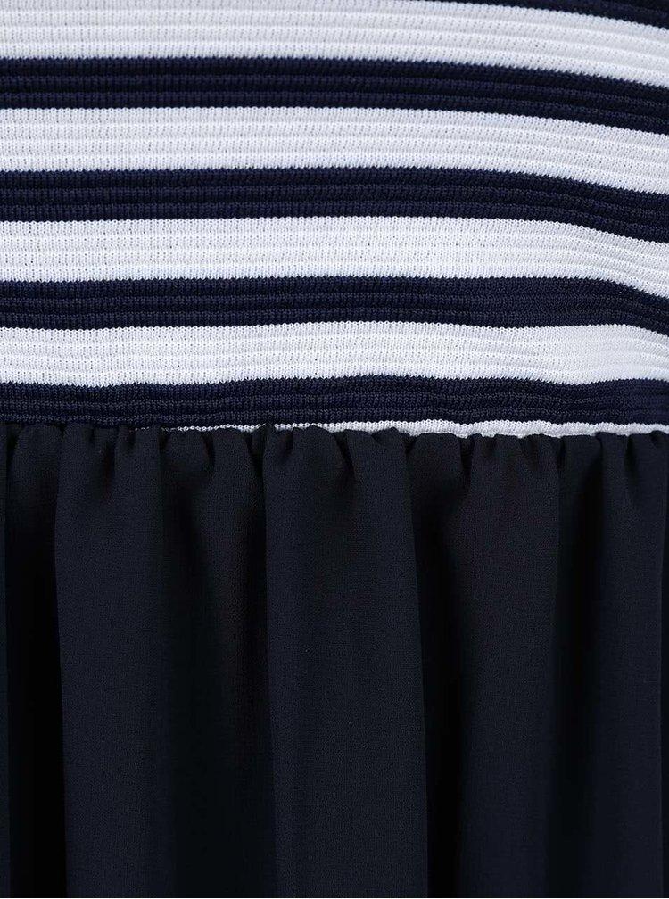 Rochie Haily´s Virginia albastru inchis cu dungi